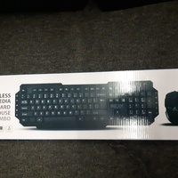 Imexx Wireless Keyboard and Mouse combo