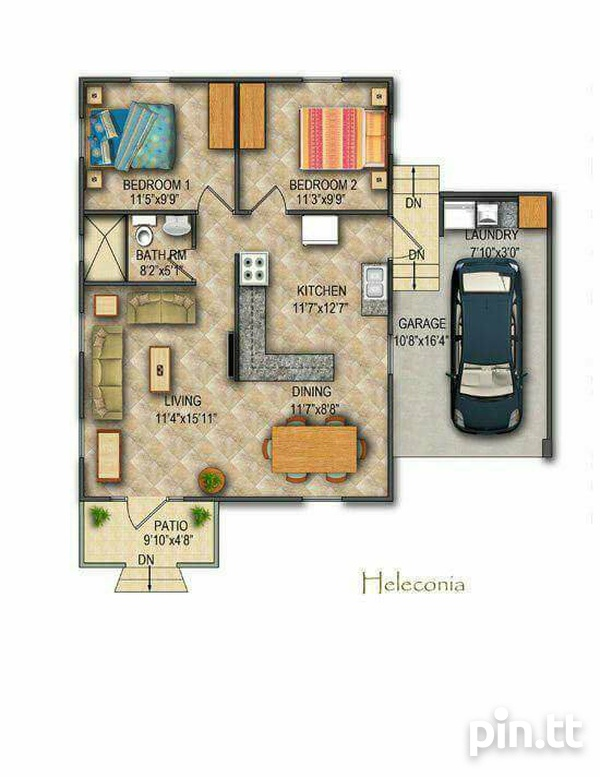2 Bedroom House on Payment plan-2