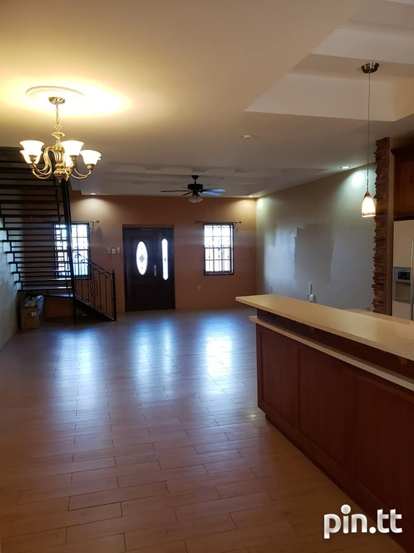Piarco 3 Bedroom Unfurnished Townhouse - Read Description-3