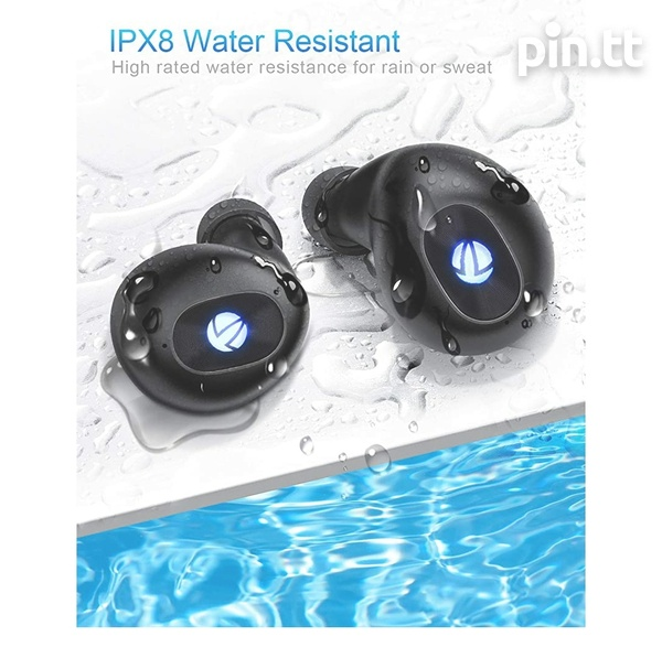 True wireless water resistant earbuds...new-2